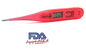 Wyltec Medical Digital Thermometer - Oral - Rectal and Underarm use - Rigid tip - FDA