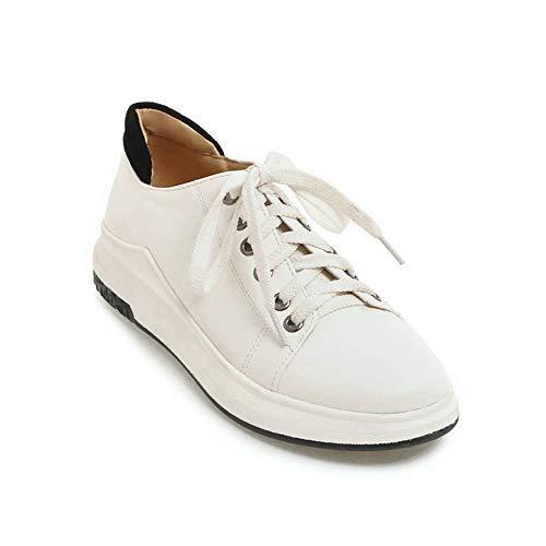 36 EU Femme Blanc Blanc BalaMasa Compensées Sandales APL10512 5 pqn8wUfYw