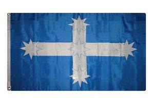 Victoria Grommet - LuxMart 3x5 Eureka Australia Stockade Victoria Flag 3'x5' Banner Grommets