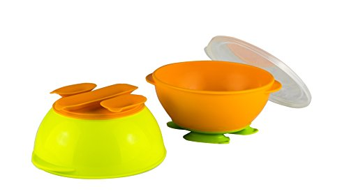 Gerber Graduates Tri-Suction Bowls, 2 pack