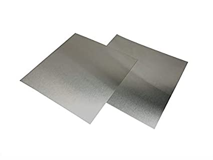 Amazon Com 304 Stainless Steel Sheet Metal Includes 2 24 Gauge Stainless Steel Flat Sheets 12 X 12 Industrial Scientific