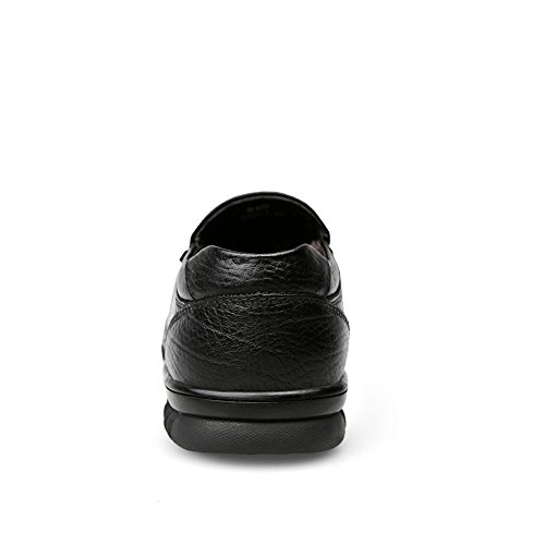 Black Stile Cricket in da Velvet hollywoodiano da Mocassini Pelle Uomo Scarpe qzwAxTga