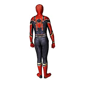- 3150tcrpYvL - Unisex Spandex Onesie 3D Zentai Suit Costume Cosplay Bodysuit for Audlt/Kids:Homecoming