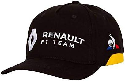 Le Coq Sportif Renault Cap Black/Amber Yellow Gorra, Unisex Adulto ...