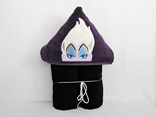 Evil Octopus Lady Hooded Bath Towel - Baby, Child, Tween