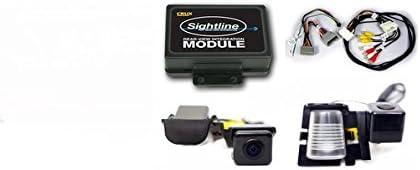Crux RVCCH-75W CRUX RVCCH-75W Jeep Wrangler Rear-View Camera Integration Kit