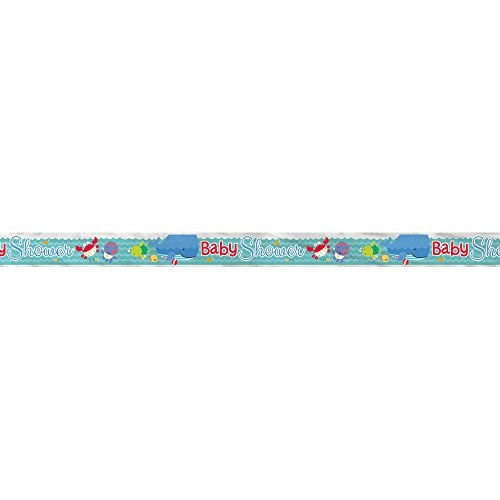 12ft Foil Under the Sea Baby Shower Banner