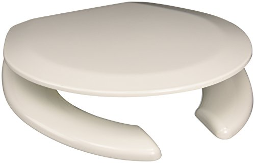 Comfort Seats C1B4R2-00WP Deluxe Molded Wood Toilet Seat with White Hinges, Round, White good