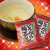 とうがらし梅茶 24食入り1袋 唐辛子梅茶