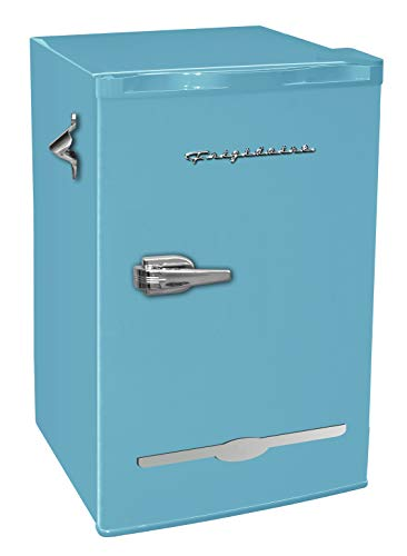 Frigidaire EFR376-BLUE 3.2 Cu Ft Blue Retro Bar Fridge with