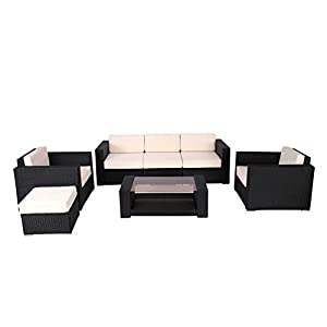 315100TRQUL._SS300_ 100+ Black Wicker Patio Furniture Sets For 2020