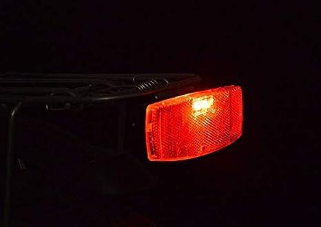 Mujeres y ni/ños para Hombres Dairxu- Reflector de Advertencia de Seguridad para Bicicleta Reflectante, para Carretera//monta/ña//Ciudad Accesorios para Bicicleta de Ciudad