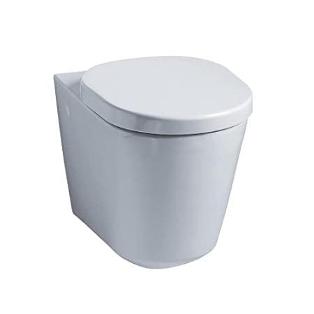 Ideal Standard K310101 White Tonic Wall Mounted WC Pan with ...