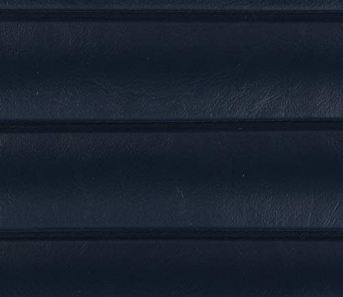(Navy Marine Outdoor Boat Auto Vinyl Fabric Pleated - 1.5