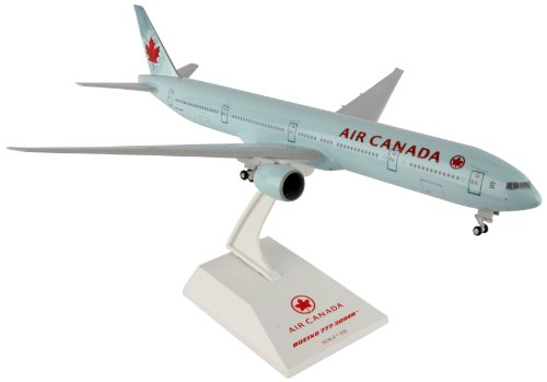 Daron Skymarks Air Canada 777 300Er Airplane Model Building Kit With Gear  1 200 Scale