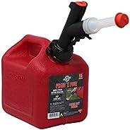 GARAGE BOSS GB310 Lata de gás Briggs and Stratton GarageBoss Press 'N Pour 1+ galão, verm