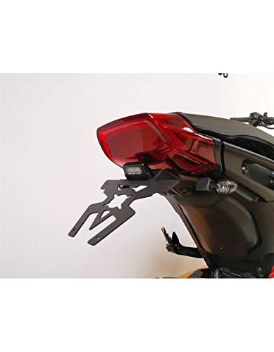 Nero Colore ACCESS DESIGN Supporto per Targa Indiano FTR 1200//1200S