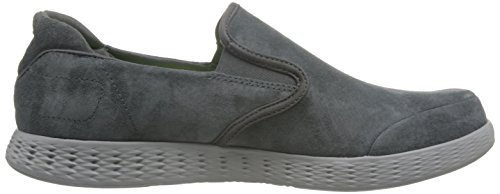 Skechers Mens On-the-go Glide-lusso Mocassino Carbone
