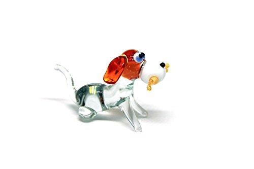Glass Dog Figurine Glass Dog Glass Animal Sculpture Glass Figurine Glass Figure Glass Animals Glass Figurines Glass Figures Dog