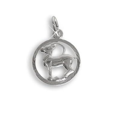 Sternzeichen Anhä nger fü r Kinder Steinbock Sterling Silber 925 (213286) Viennagold