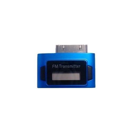 well-wreapped Exeze - Pico 5 Transmetteur FM pour iPhone, iPod nano, iPod Touch, iPod Classic - Ultra-compat - Pas de cable ou de batterie nécessaire - Bleu