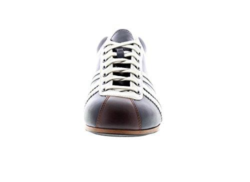 Zeha-Berlin Sneakers Carl Häßner Liga 855.042 - Navy Cognac