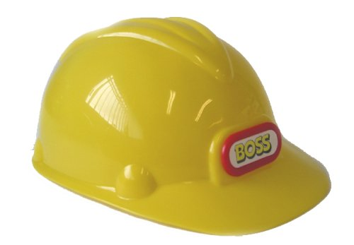 Boss Construction Helmet - Childs Hard-hat Peterkin 6451 Builder Dress-up