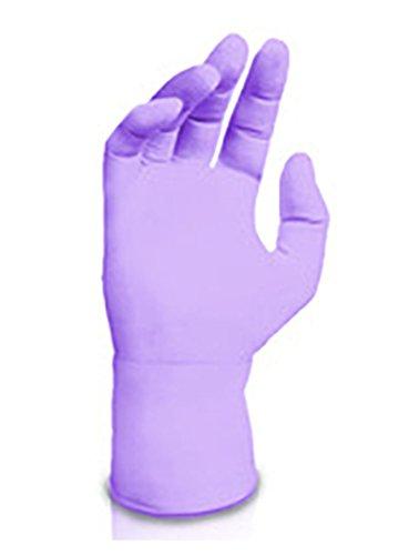Kimberly Clark Safety 52819 Nitrile Exam Gloves, Large, Lavender (Pack of 250) by Kimberly Clark Safety