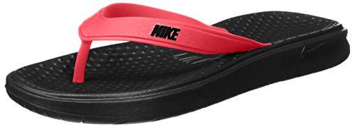 Nike Men's Solay Thong Sandal, red Orbit/Black - Black, 9 Regular US (Lakeside Home Store)