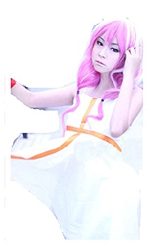 Inori Guilty Crown Cosplay Costume (Guilty Crown Inori Yuzuriha White cosplay costume)