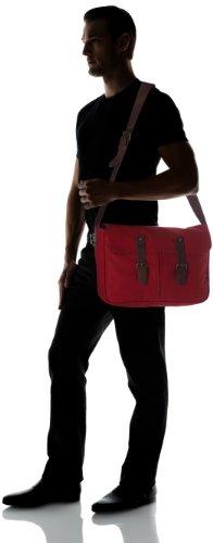 C.Oui - Bolso de hombro para mujer Rojo (Rouge (Rouge))
