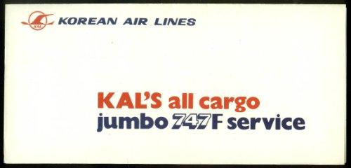 korean-air-lines-all-cargo-jumbo-747f-service-airline-folder-1970s