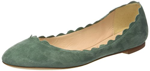 Fabio Rusconi Ladies Ballerinas Closed Ballerinas Green (basilico)