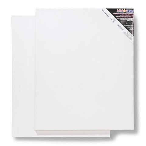Bulk Buy: Darice DIY Crafts Stretched Canvas 16 x 20 inches 2 pieces (10-Pack) 97606 by Darice
