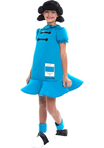 Peanut M&m Costume (Peanuts Lucy Girls Costume Size)