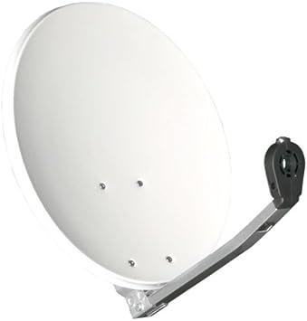 Gibertini Antena parabólica original de 40 cm de aluminio HDTV para camping