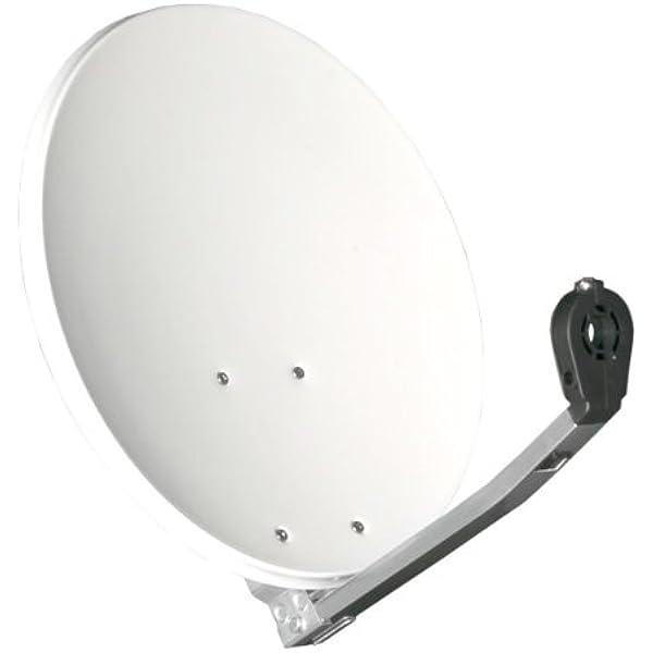 Gibertini Antena parabólica original de 40 cm de aluminio ...