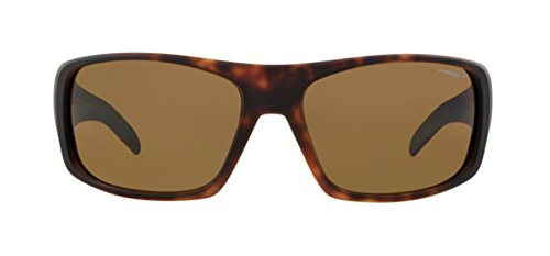 Sunglasses Polarized for Men Arnette La Pistola Sport AN4179 Fuzzy Havana Brown 215283 66