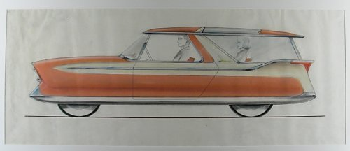Designs for a Nash Metropolitan Station Wagon by