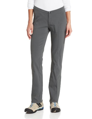 Straight Leg Pull - Columbia Women's Just Right Straight Leg Pant, Grill, 8R