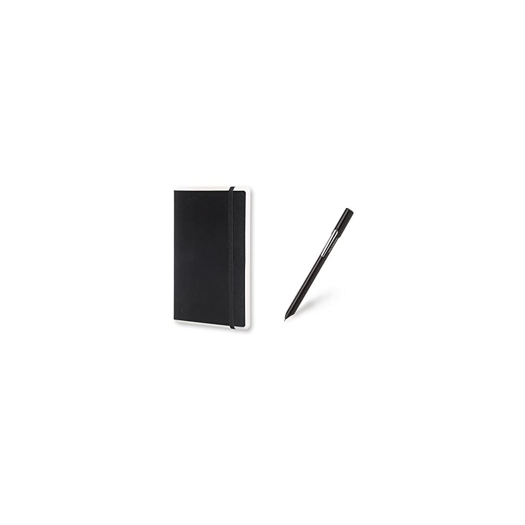 Moleskine Pen+ Smart Writing Set Pen & Dotted Smart Notebook – Use with Moleskine App for Digitally Storing Notes (Only compatible with Moleskine Smart Notebooks)