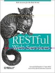 Restful Web Services 1st (first) edition Text Only