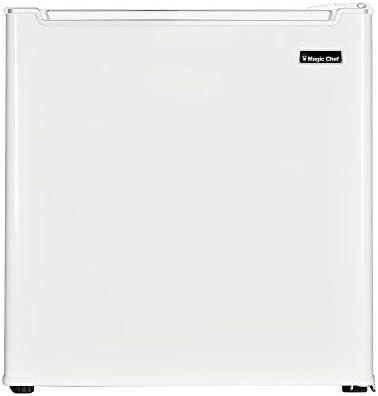 Freezerless Mini Fridge, White 1.7 cu. ft.
