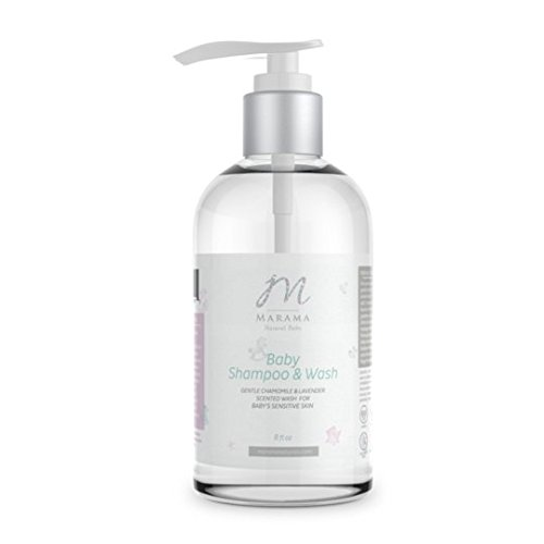 Baby Shampoo and Wash by Marama Naturals - Gentle Chamomile and Lavender Scented Wash for Baby's Sensitive Skin by Marama Naturals (Image #2)'