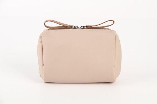 LULANFaule Menschen Make-up Tasche niedliche kleine Tasche Tasche kompakte Mini portable travel Kulturbeutel, 14*6*10 cm, Karte seine (klein)