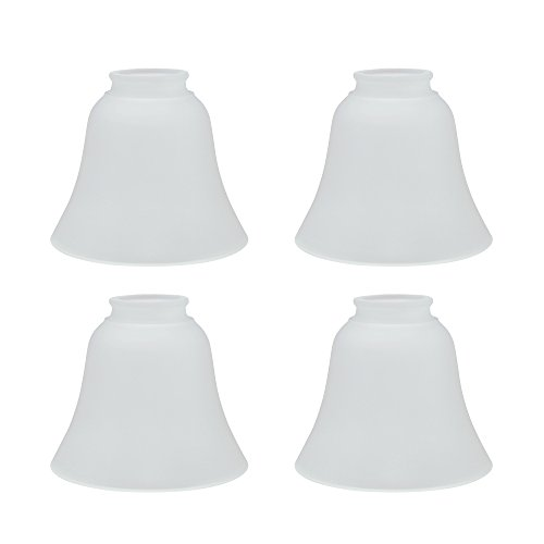 - Aspen Creative 23026-4 Transitional Style Replacement Glass Shade, Frosted