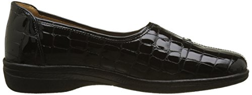 Negro 97 Schwarz Gabor Basic Mujer para Shoes Comfort Derby SAzq6w