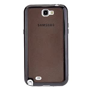 Buy TPU and PC 2 In 1 Hard Case and Mirror Screen Protector for Samsung Galaxy Note 2 N7100 (Assorted Colors) , Black
