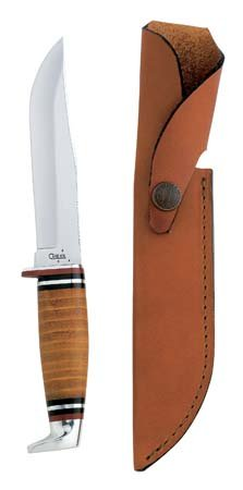 Case Medium Leather Hunter Knife