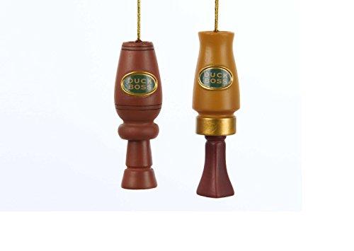 (Kurt Adler Polyresin Redneck Duck Ornament -